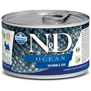 Farmina Natural & Delicious Ocean Salmon & Cod Canned Dog Food