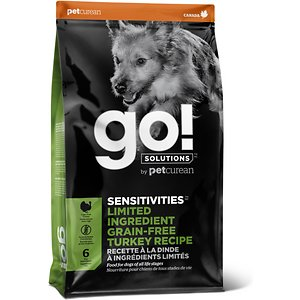 Go! SENSITIVITIES Limited Ingredient Turkey Grain-Free Dry Dog Food