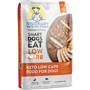 Visionary Pet Foods Keto Low Carb Chicken Recipe Dry Dog Food