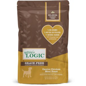 Nature's Logic Canine Chicken Meal Feast Grain-Free Dry Dog Food