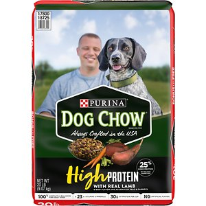 Dog Chow High Protein Recipe With Real Lamb & Beef Flavor Dry Dog Food