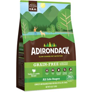 Adirondack Limited Ingredient Turkey & Lentils Recipe Grain-Free Dry Dog Food