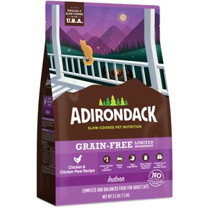 Adirondack Limited Ingredient Chicken & Chicken Meal Recipe Grain-Free Dry Cat Food