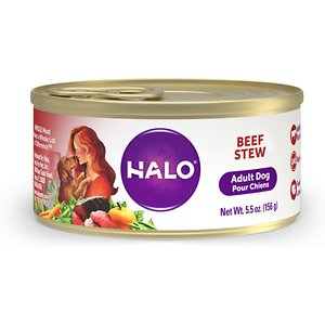 Halo Holistic Beef Stew Adult Canned Dog Food