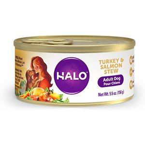 Halo Turkey & Salmon Recipe Adult Canned Dog Food
