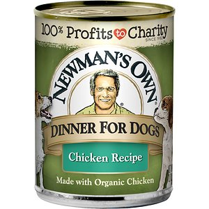 Newman's Own Dinner For Dogs Chicken Recipe Canned Dog Food