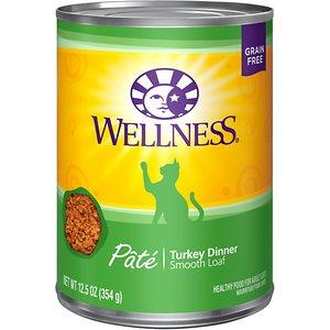 Wellness Complete Health Turkey Formula Grain-Free Canned Cat Food