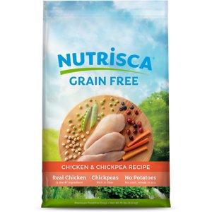 Nutrisca Grain-Free Chicken & Chickpea Recipe Dry Dog Food