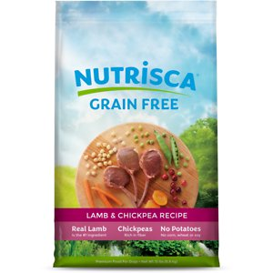 Nutrisca Grain-Free Lamb & Chickpea Recipe Dry Dog Food