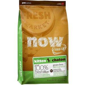 Now Fresh Grain-Free Kitten Recipe Dry Cat Food