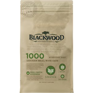 Blackwood 1000 Chicken Meal & Oats Recipe Everyday Diet Adult Dry Dog Food