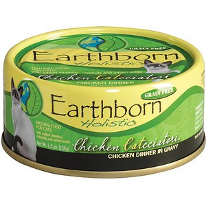 Earthborn Holistic Chicken Catcciatori Grain-Free Natural Adult Canned Cat Food