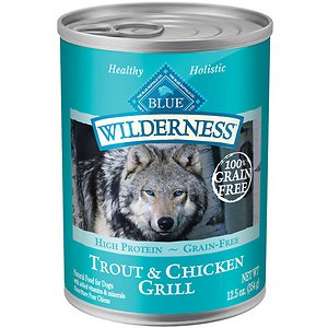 Blue Buffalo Wilderness Trout & Chicken Grill Grain-Free Canned Dog Food