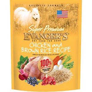 Evanger's Super Premium Chicken with Brown Rice Recipe Dry Dog Food