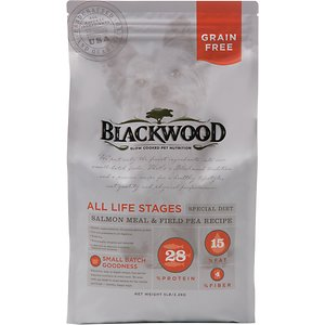 Blackwood Salmon Meal & Field Pea Recipe Grain-Free Dry Dog Food