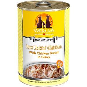 Weruva Paw Lickin' Chicken in Gravy Grain-Free Canned Dog Food