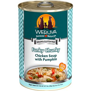 Weruva Funky Chunky Chicken Soup with Pumpkin Grain-Free Canned Dog Food