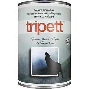 PetKind Tripett Green Beef Tripe & Venison Grain-Free Canned Dog Food