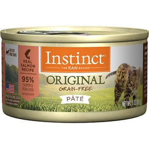 Instinct Original Grain-Free Pate Real Salmon Recipe Wet Canned Cat Food