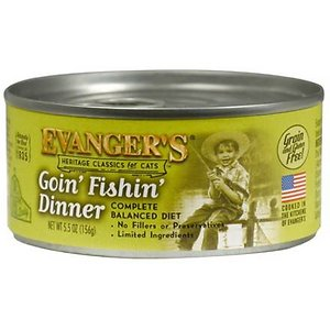 Evanger's Classic Recipes Goin' Fishin' Dinner Grain-Free Canned Cat Food