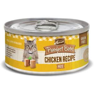 Merrick Purrfect Bistro Grain-Free Chicken Pate Canned Cat Food