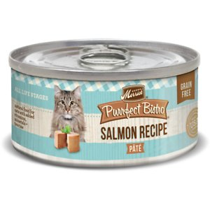Merrick Purrfect Bistro Grain-Free Salmon Pate Canned Cat Food