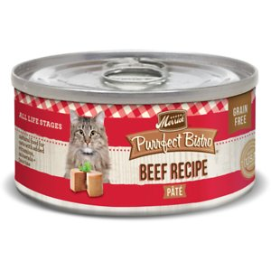 Merrick Purrfect Bistro Beef Pate Grain-Free Canned Cat Food