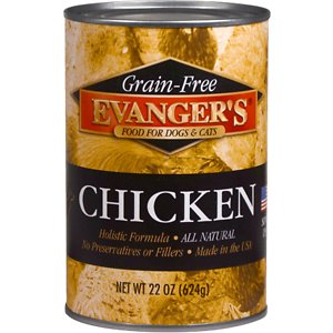 Evanger's Grain-Free Chicken Canned Dog & Cat Food