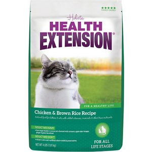 Health Extension Chicken & Brown Rice Recipe Dry Cat Food