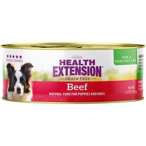 Health Extension Grain-Free Beef Canned Dog Food