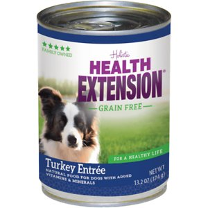 Health Extension Grain-Free Turkey Entree Canned Dog Food