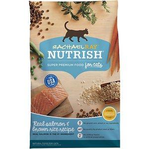 Rachael Ray Nutrish Natural Salmon & Brown Rice Recipe Dry Cat Food
