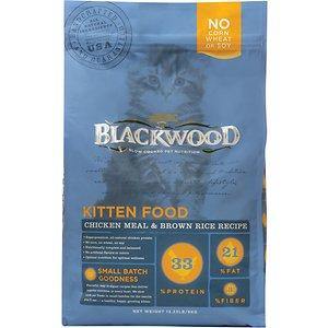 Blackwood Chicken Meal & Rice Recipe Kitten Formula Dry Cat Food