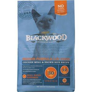 Blackwood Chicken Meal & Rice Recipe Indoor Formula Dry Cat Food