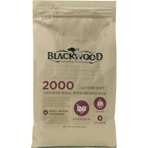 Blackwood 2000 Chicken Meal & Brown Rice Recipe Active Diet Dry Dog Food