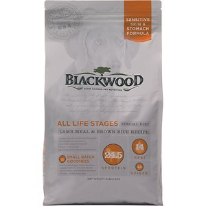 Blackwood Lamb Meal & Brown Rice Recipe Sensitive Skin & Stomach Formula Dry Dog Food