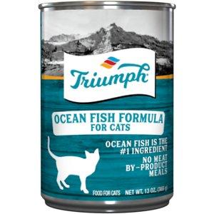 Triumph Ocean Fish Formula Canned Cat Food