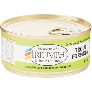 Triumph Trout Formula Canned Cat Food