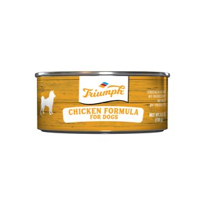 Triumph Chicken Formula Canned Dog Food