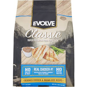 Evolve Classic Deboned Chicken & Brown Rice Recipe Dry Cat Food