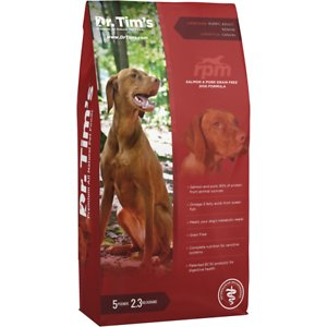 Dr. Tim's Salmon & Pork Grain-Free RPM Formula Dry Dog Food