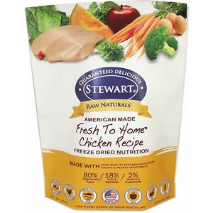 Stewart Raw Naturals Chicken Recipe Grain-Free Freeze-Dried Dog Food