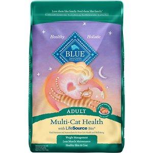 Blue Buffalo Multi-Cat Health Chicken & Turkey Recipe Adult Dry Cat Food