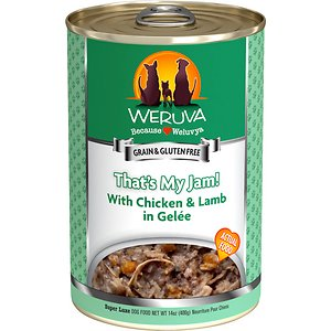 Weruva That's My Jam! With Chicken & Lamb in Gelee Grain-Free Canned Dog Food