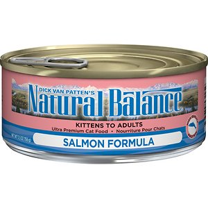 Natural Balance Ultra Premium Salmon Formula Canned Cat Food