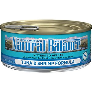 Natural Balance Ultra Premium Tuna with Shrimp Formula Canned Cat Food