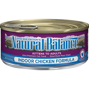 Natural Balance Ultra Premium Indoor Chicken Formula Canned Cat Food