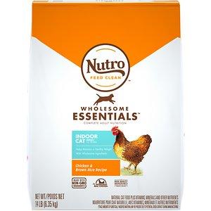 Nutro Wholesome Essentials Indoor Chicken & Brown Rice Recipe Adult Dry Cat Food