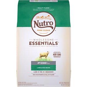 Nutro Wholesome Essentials Senior Lamb & Rice Recipe Dry Dog Food