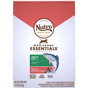 Nutro Wholesome Essentials Adult Salmon & Brown Rice Recipe Dry Cat Food